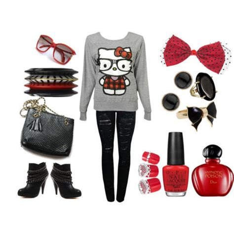 Nerdy+Outfits | Fashion u00bb NERDY KITTY OUTFIT | The Nerdy Side Of Me | Pinterest | More Kitty ideas