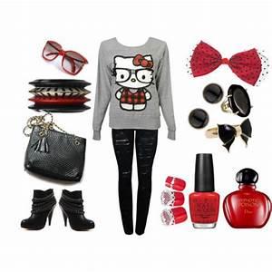 Nerdy+Outfits | Fashion » NERDY KITTY OUTFIT | The Nerdy ...