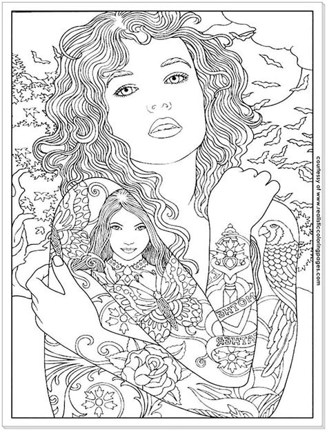 adult coloring pages tattoos | Designs coloring books