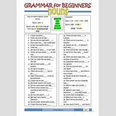 Grammar For Beginners Nouns (1) Worksheet  Free Esl Printable Worksheets Made By Teachers