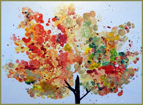kertas cotton canvas finger painting ideas