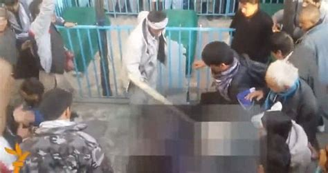 afghanistan mentally ill woman battered  death  angry