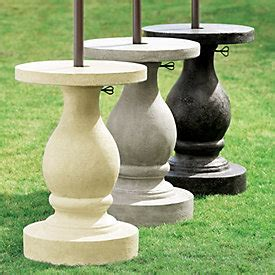 maison umbrella side table ballard designs