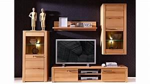 Tv Board Buche Massiv : wohnwand 2 nature plus kernbuche teilmassiv lackiert ~ Bigdaddyawards.com Haus und Dekorationen