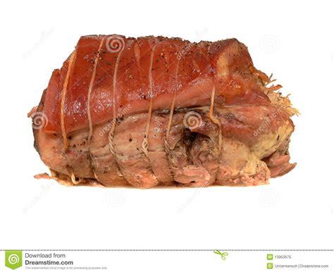 roast pork joint royalty  stock photo image