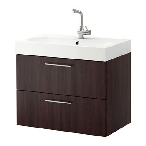 ikea bathroom vanities with drawers godmorgon br 197 viken sink cabinet with 2 drawers black
