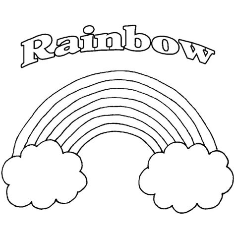 rainbow coloring pages getcoloringpagescom
