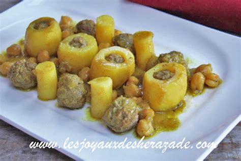 les cuisines en algerie pommes de terre farcies batata dolma les joyaux de