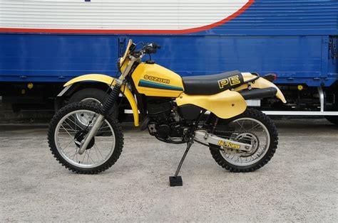 Suzuki Pe175 by 人もマシンもビンテージ ブログ 1982 Suzuki Pe175