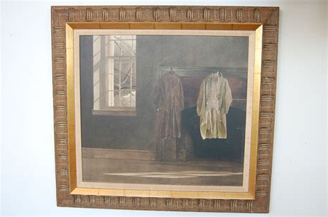 quaker  andrew wyeth framed print  savoy flea