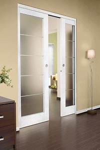 Porte A Galandage Double : porte coulissante galandage lapeyre en applique ~ Premium-room.com Idées de Décoration