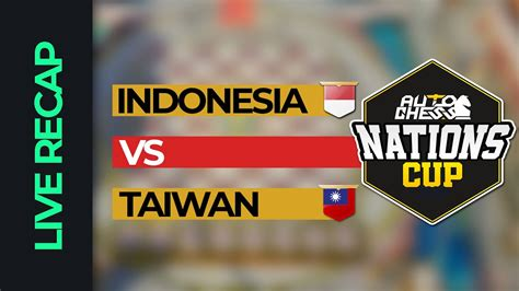 They will try to show us their best skills, combinations and tactics to win the favorite team is indonesia, but oman try to show us their best game and win this match. LIVE NATIONCUPAC - INDONESIA VS TAIWAN ( Indonesia ) - YouTube