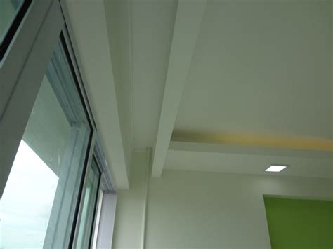 curtain pelmet false ceilings  box partitions