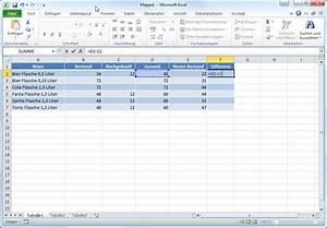 Excel Formeln Automatisch Berechnen : berechnen des unterschieds zwischen zwei zeitangaben excel ~ Themetempest.com Abrechnung