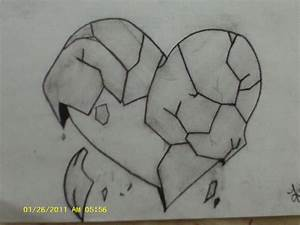 Easy Love Drawing Easy Pencil Drawings Of Broken Hearts ...