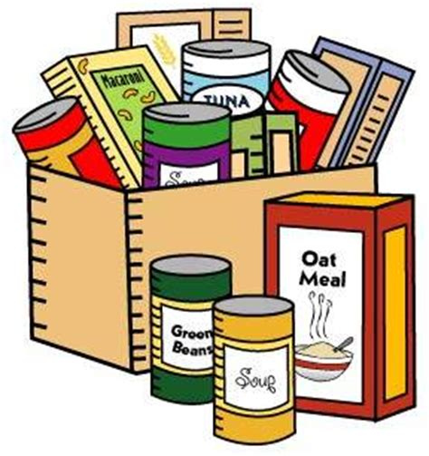 food drive clipart can of non perishable food clipart clipart suggest