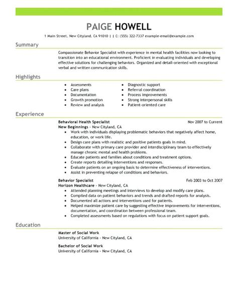 Social Services Resume Exles by 12 13 Entry Level Human Services Resume