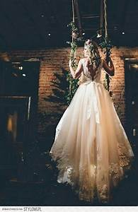 32 whimsical and ethereal wedding dresses for fairy tale With rock wedding dress