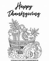 Thanksgiving Coloring Happy Ws Leave sketch template
