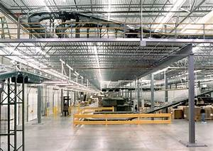 Mezzanines And Elevated Platforms For Factories And Warehouses