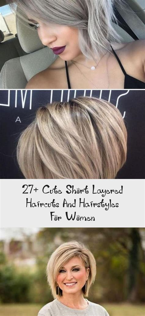 Side Parted Layered Pixie Bob #cheveuxcourtRock #