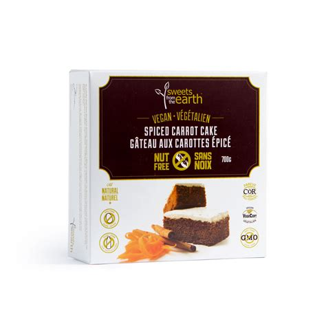spiced carrot cake pan sweets   earth