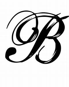 30 best images about letters on pinterest With script letter decals