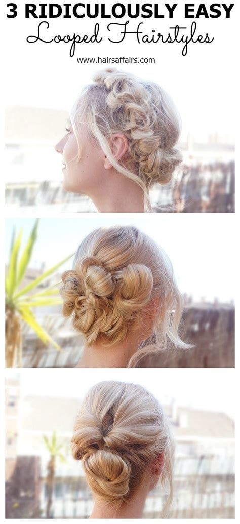 Let us respect her sense of fashion and vary her styling routine. 3 EASY HAIRSTYLES FOR EASTER HOLIDAYS   Easy hairstyles, Hair styles, Short hair styles