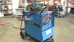 Miller Syncrowave 250 Tig Arc Welder Cc Ac Dc Power Source