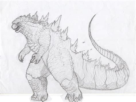 godzilla coloring pages gigantic paul  coloring page