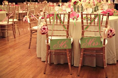 mr and mrs wedding chair signs 6 x 12 by ourhobbytoyourhome