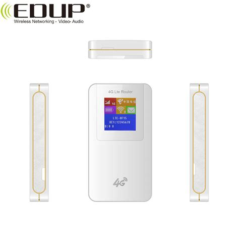 Portable Hotspot 3G 4G Modem LTE Router WiFi with Sim Card