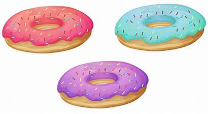 Donut Donuts Clipart Transparent Background Clear Clip