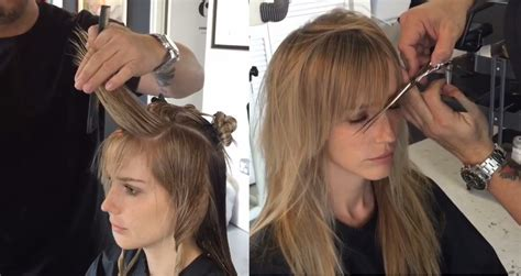 coiffure cheveux longs coiffure simple  facile