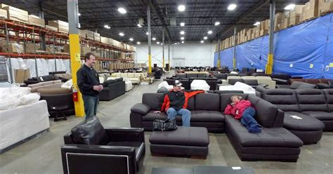 furniture business thrives  shoppers   warehouse