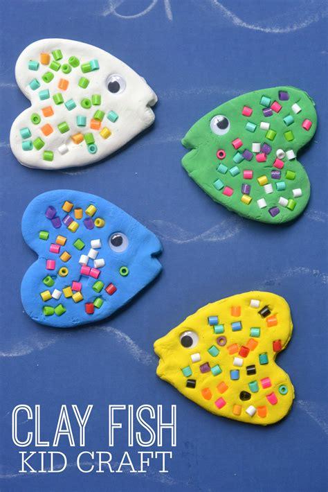 easy  fast clay diys  excite  children