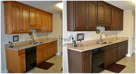 refinishing stained kitchen cabinets staining kitchen cabinets