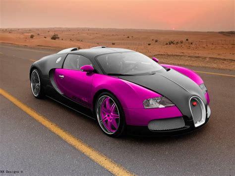 Bugatti Veyron, Bugatti Veyron, K K Designs, Pink, Pink