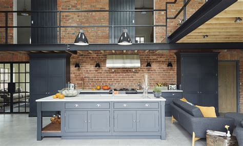 Converted Barn Sited Open Countryside by Step Inside This Modern Industrial Style Barn Conversion