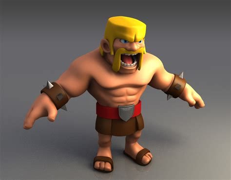 Clash Of Clans Backgrounds Clash Of Clans Barbarian Desktop Full Hd Pictures