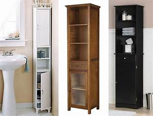 Narrow bathroom cabinets neiltortorellacom for Narrow bathroom cabinet