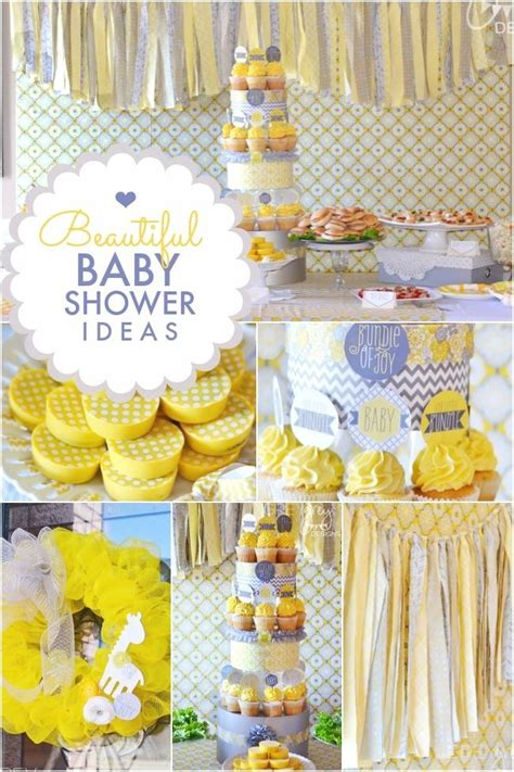 Beautiful Baby Shower by Yellow Grey Quot Bundle Of Quot Boy S Baby Shower