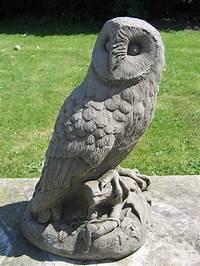 owl garden statue Dragonstone Owl Garden Statue Garden Ornament   eBay