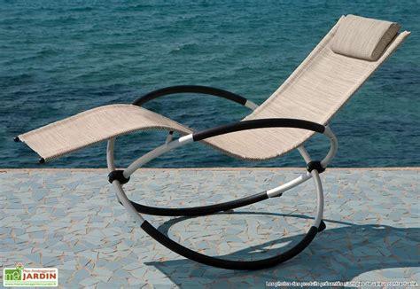 chaise qui se balance transat à bascule cosmo transat à bascule cosmo 2