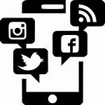 Marketing Icon Mobile Digital Svg Social Phat