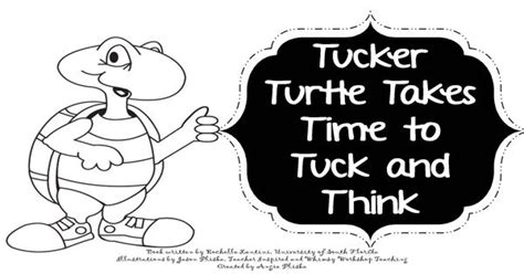 tucker turtle printable coloring book  great social