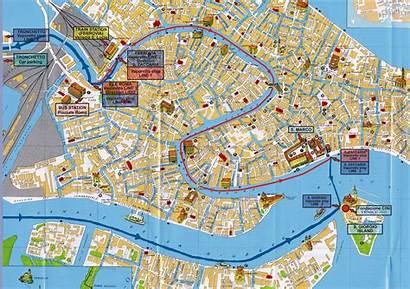 Venice Map Maps Detailed Tourist