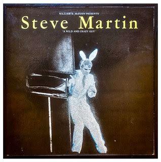 glittered vintage steve martin wild  crazy guy album