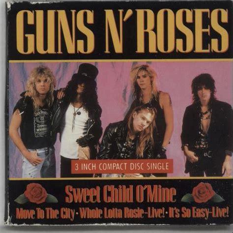 Guns N Roses Sweet Child O Mine Uk 3