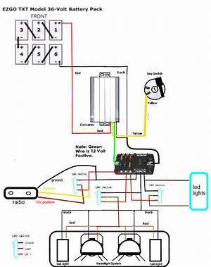 Ezgo 48 Volt Diagram 14287 Archivolepe Es